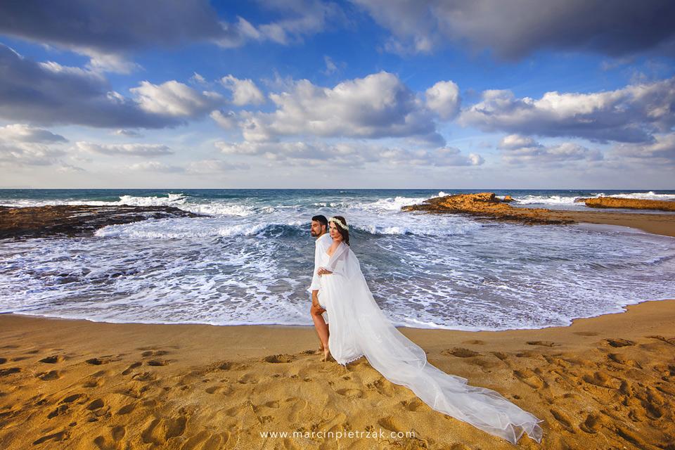 ślub na pięknej plaży